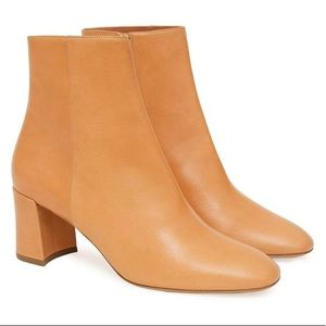Mansur Gavriel Vegetable Tanned 65MM Ankle Boot 40